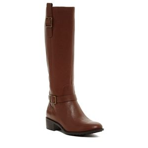 COLE HAAN EUC brown Kenmare riding boots